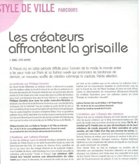 Journal A Nous Paris