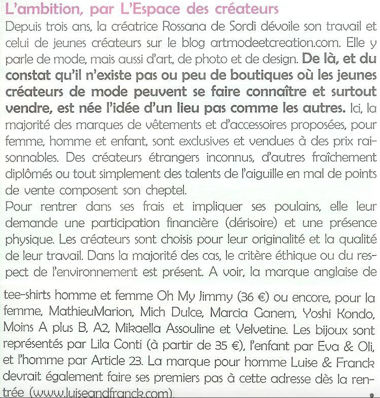 Journal A Nous Paris