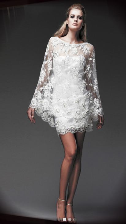 Ana Quasoar robe de marié