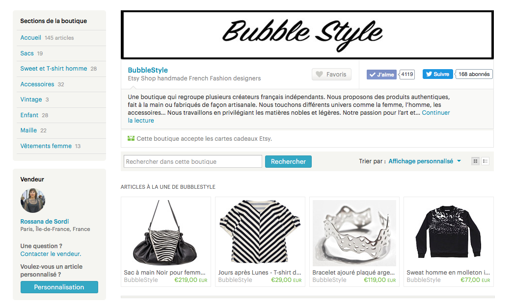 Bubble Style e-shop