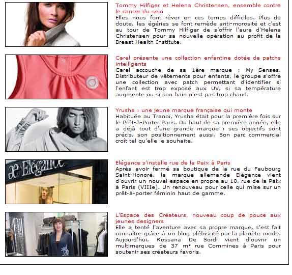 Fashion Mag article sur L'Espace des Créateurs